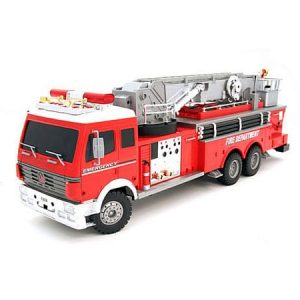Fire Engine Electric RTR RC Truck 1:18 w Water Canon