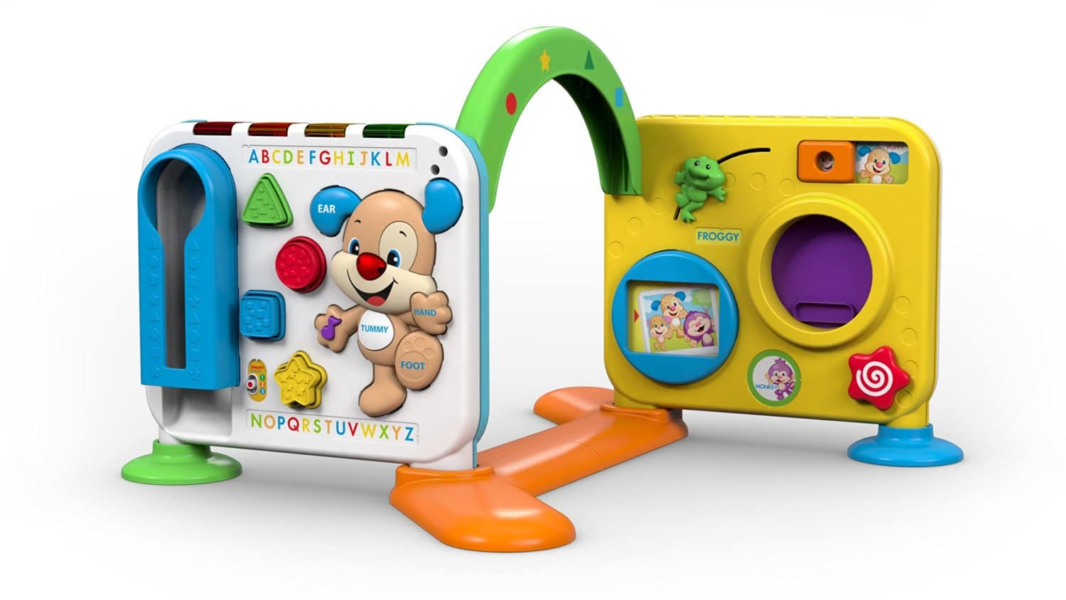 Toys For Learning To Crawl : Fisher price laugh and learn crawl around learning centre