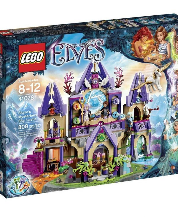 LEGO Elves Skyra's Mysterious Sky Castle [41078 - 808 Pieces]