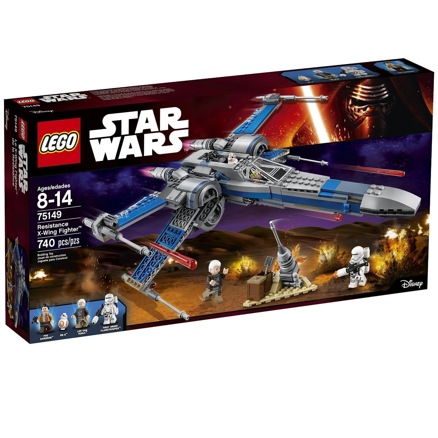 LEGO Star Wars Resistance XWing Fighter Review