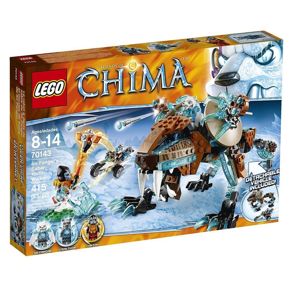 Lego Chima Sir Fangar's Saber-tooth Walker [70143]