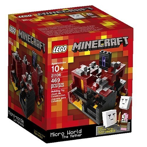 Lego Minecraft - The Nether [21106 - 469 pcs]