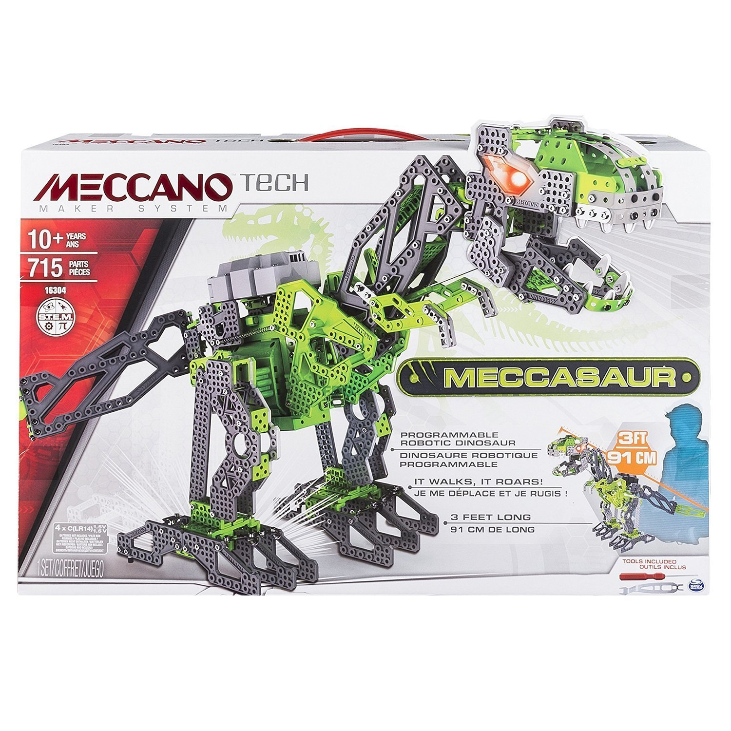 Meccano Meccasaur Review