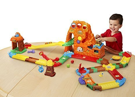 Vtech Go! Go! Smart Wheels Treasure Mountain Train Adventure<