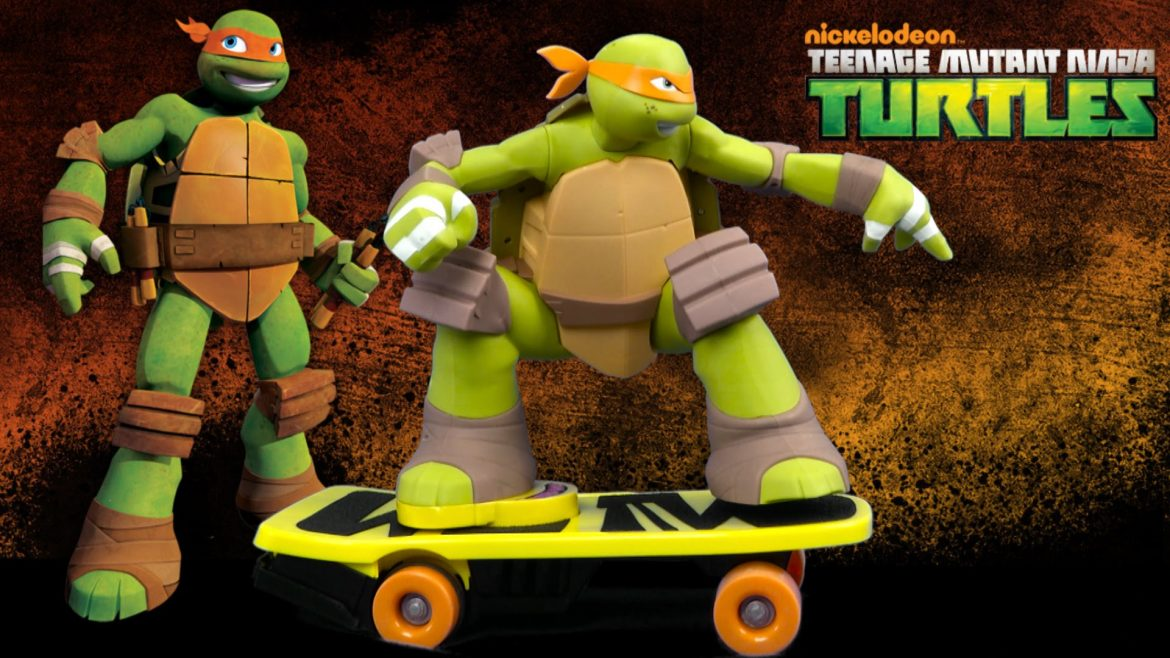 Teenage Mutant Ninja Turtles Remote Control Skateboarding Mikey