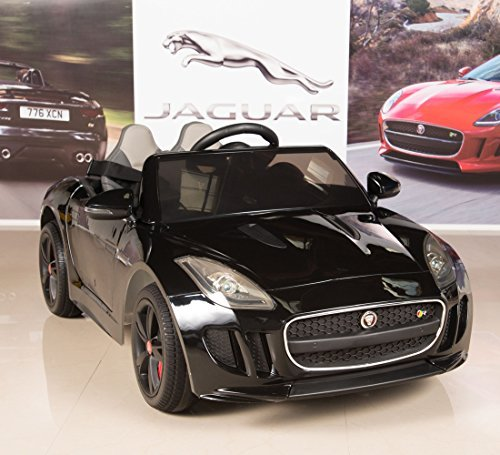 Jaguar F-TYPE 12V Kids Ride On Battery Powered Wheels Car with 2